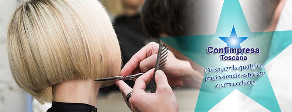 Corso per conseguire la qualifica professionale di estetista e parrucchiere
